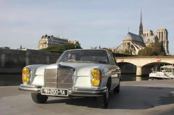 Paris Off-the-beaten-Track Tour door Mercedes 280SE