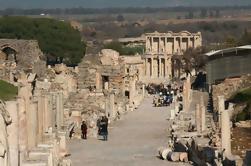 Cidade antiga de Ephesus Excursão do porto de Kusadasi