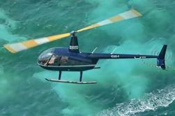 Excursión de la costa de St Maarten: Excursión turística de la isla por el helicóptero