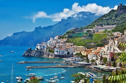 Costa de Amalfi en barco desde Sorrento