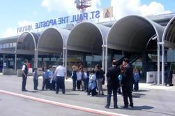 Transfert d'arrivée privé L'aéroport Saint Paul Apôtre Ohrid à l'hôtel à Ohrid ou Struga