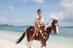 Excursión a caballo en Punta Cana a la playa de Macao
