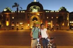 Excursión en bicicleta por la noche de Santiago