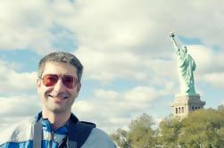 NYC Vrijheidsbeeld Tour waaronder Express Bus van Midtown met optionele Pedestal Access