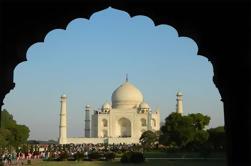 Excursion d'une demi-journée à Agra du Taj Mahal et du Fort d'Agra