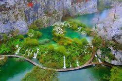 Plitvice Lakes NP Excursión de un día con parada en Knin de Split o Trogir