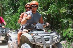 Excursión Akumal de ATV de todo el día y Zipline Adventure Tour