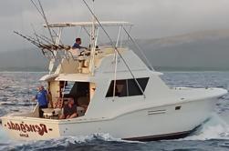 Carta de pesca compartida de medio día en aguas profundas