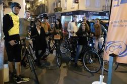 3 horas de viaje en bicicleta de Niza por la noche