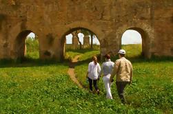Roma fora do caminho batido, incluindo aquedutos Appian Way e gueto judeu