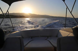 Palma de Mallorca Private Evening Bike Tour Met Speedboat Sunset Ride