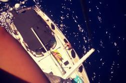 Cena privada a bordo del yate de lujo en Atenas Riviera