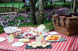 Experiencia de picnic en un parque urbano en Barcelona