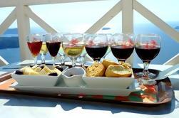 Bodega de Santorini y Tour de Comida