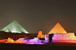 Espectáculo de Luz y Sonido en las Pirámides y Esfinge con Transferencia Privada