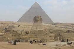 Visita a Pirâmides de Gizé, Esfinge, Museu Egípcio