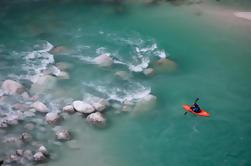 Descente guidée du kayak sur la rivière Soca de Bovec