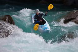 Cours de kayak sur la rivière Soca de Bovec