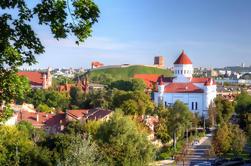 Panoramic Vilnius Wandeltocht van de Republiek Uzupis