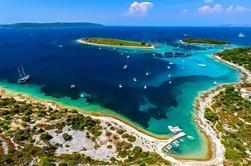 Excursión en barco de medio día a Blue Lagoon y Trogir desde Split