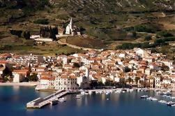 Excursión privada de 5 islas con el barco de la velocidad a la cueva azul ya la isla de Hvar de Split o de Trogir