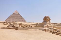 Tour guiado privado de medio día: Pirámides de Giza