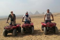 Excursión de un día privado: Pirámides de Giza y Aventura en Quad Bike