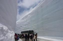 Ruta alpina Tateyama Kurobe de 2 días, Shirakawago y Hida-Takayama Tour en autobús desde Tokio