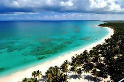Catamarán de Punta Cana y crucero por lancha a la isla de Saona