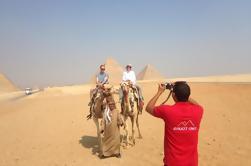 Tour de día completo desde El Cairo: Pirámides de Giza Esfinge Memphis y Sakkara