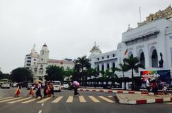 Excursión Trishaw de la ciudad de Yangon