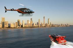 Gold Coast Combo: Paseo en lancha y vuelo en helicóptero