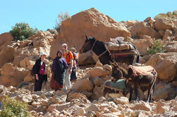 Une journée de marche dans le Haut Atlas parmi les nomades