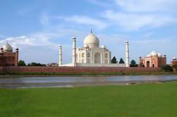 Tour de amanecer y puesta de sol en el Taj Mahal y Fortaleza de Agra