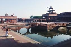 Día privado de viaje a Agra, incluyendo el Taj Mahal de Jaipur en coche o minivan