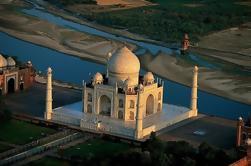 Journée privée à Agra, y compris le Taj Mahal de Jaipur en train