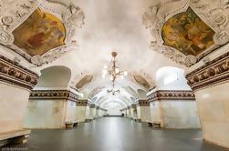 Palácios subterrâneos: Moscow Metro Tour