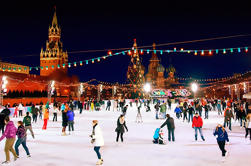 Private 5-timers Winter Walking Tour i Moskva