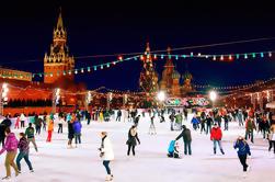 Private 5 uur Winter Walking Tour in Moskou