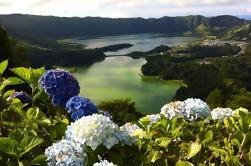 Sete Cidades Medio Día desde Ponta Delgada
