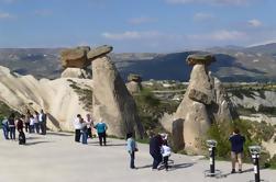 Tour privado de Cappadocia de día completo incluyendo el museo al aire libre de Goreme