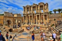 Excursión a la costa: Ruinas de Éfeso Casas de terraza y Museo de Arqueología de Éfeso