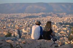 Visite d'Athènes en soirée