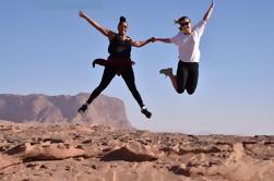 Petra privado de 3 días, Wadi Rum, Dana, Reservas de Almujib, Aqaba y Mar Muerto desde Ammán