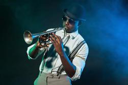 Noche de la vendimia de NYC: Bandas grandes, música del oscilación y viaje que camina del jazz de Dixieland