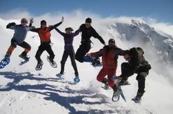 Montañas de Rila Snowshoeing de un día y cata de vinos