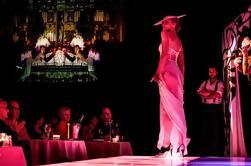 Risqué Revue Cabaret Cena y espectáculo con asientos VIP en Slide Sydney