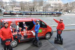 Tour en segway de París con billete para el crucero por el Sena