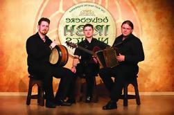 Irish Night Show tradicional en Dublín incluyendo cena de 3 platos y entretenimiento