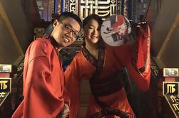 Authentique Hanfu Experience à l'UNESCO Sites historiques, y compris le déjeuner végétarien et le thé l'après-midi